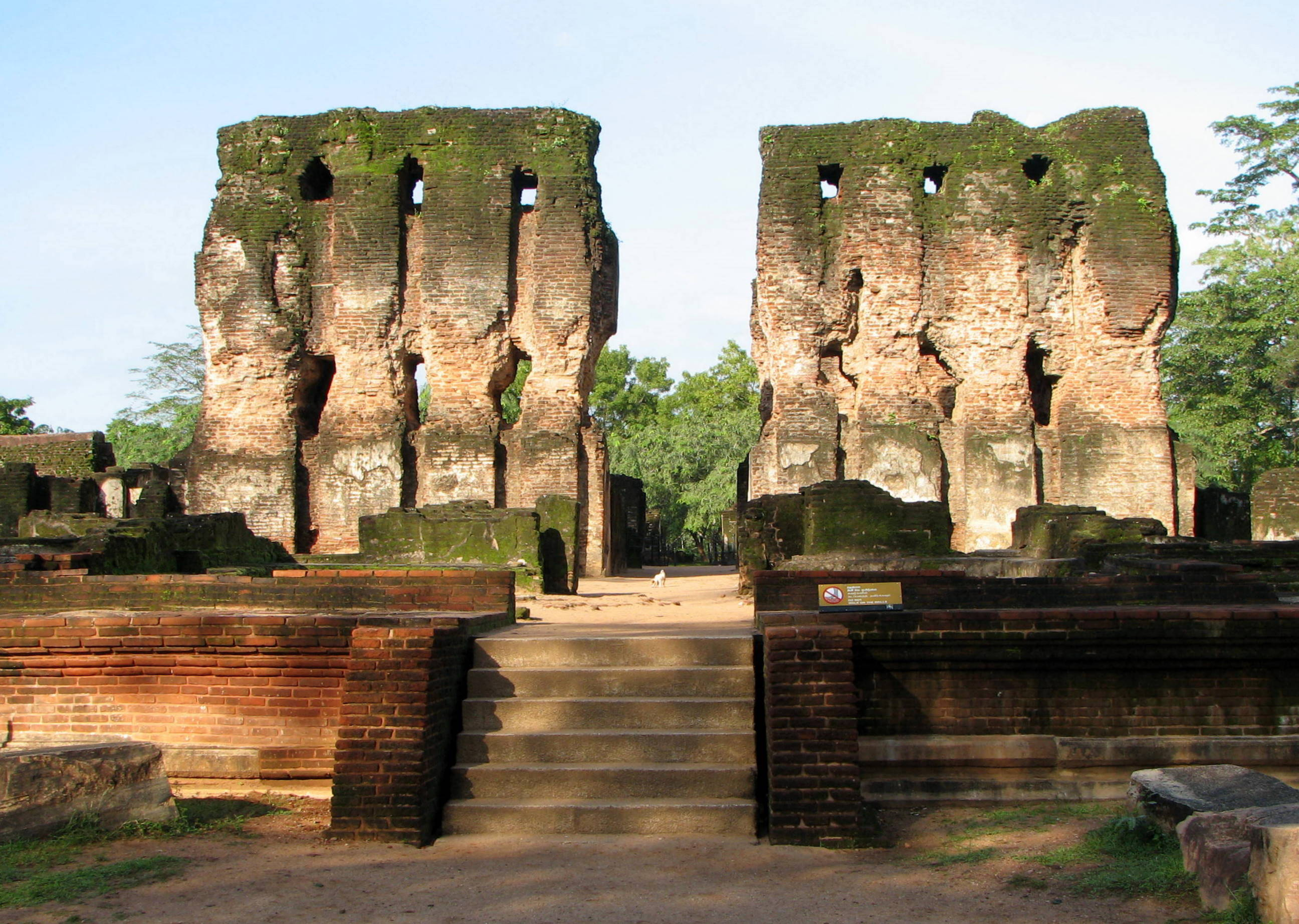 ROYAL PALACE - POLONNARUWA
