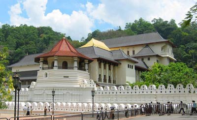 Temple of Tooth - Kandy , Sri Lanka